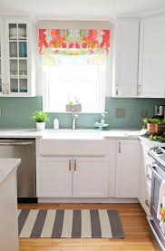 kitchen window treatment ideas furnish burnish