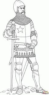 knight middle age coloring history amazing middle ages