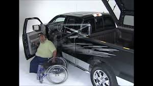 Bathroom Accessories For Disabled by Pick Up Truck Solutions From B U0026w Handicap Equipment Youtube