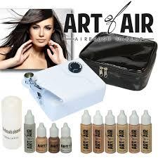 art of air professional airbrush cosmetic makeup kit fair to