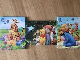 disney kinderzimmer 3 bilder disney winnie pooh auf keilrahmen für s kinderzimmer in