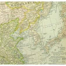 Map China Map China 1897 Mapsandart Original Art Antique Maps U0026 Prints