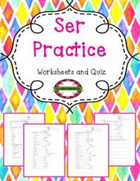 ser guided notes and practice includes descriptive adjective