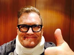 Drew Carey Meme - drew carey on twitter original thumbs up drew in a neck brace