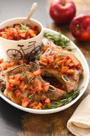 pork chops with spicy applesauce pork recipes pork be inspired