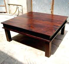 Wood Coffee Tables With Storage Square Wooden Coffee Tables Beaconinstitute Info