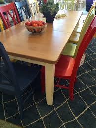 there u0027s nothing drab about this dining table u0026 chairs solid wood