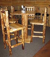 rustic pub table and chairs rustic pub table gathering collaborate decors best rustic pub