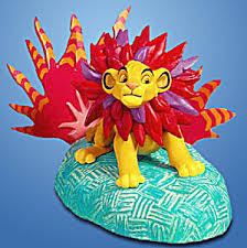 mighty simba king disney hallmark ornament sound disney