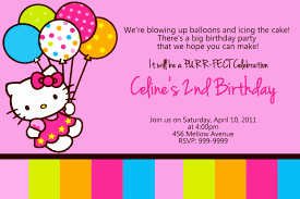 kitty birthday card template free 4 u0026 professional