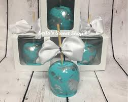 candy apples boxes bow for candy apples etsy