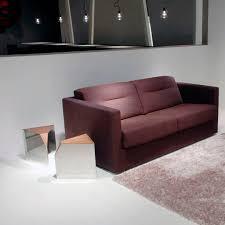 canap lit roset canapé lit contemporain en tissu en cuir mostra ligne