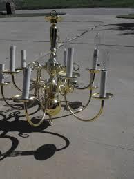 Brass Chandelier Remodelaholic Diy Brass Chandelier Makeover