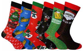 mens christmas socks mens christmas socks 6 different designs from selectasock