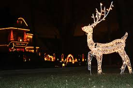 Outdoor Christmas Yard Decorations by Santa Sleigh And Reindeer Outdoor Decoration Simple Outdoor Com