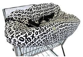 Black And White Chair Covers Amazon Com Itzy Ritzy Sitzy Shopping Cart And High Chair Cover