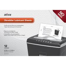 Cross Cut Paper Shredders Ativa Cross Cut Shredder Review