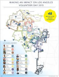 Los Angeles City Council District Map by Mythbusters Ucla U0027s Influence Outside Of Westwood Government