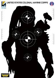 printable christmas targets sci fi targets some talented people here