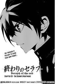 Owari No Seraph Light Novel Read Owari No Seraph Chapter 20 Mangafreak