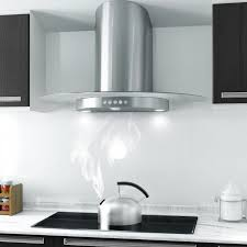 kitchen recirculating vent hood for modern kitchen