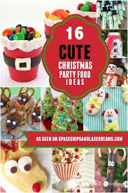 16 cute christmas party food ideas kids will love food ideas