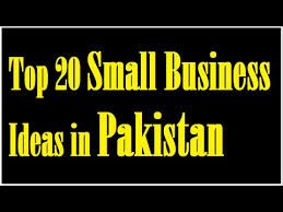 top 20 small business ideas in pakistan