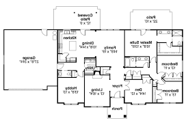 Ranch Floor Plans Ranch House Plans Brennon 30 359 Associated Designs