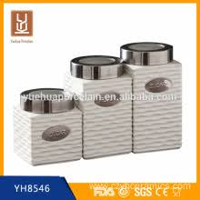 Square Kitchen Canisters by Leading Manufacturer Ceramic Baking Plate