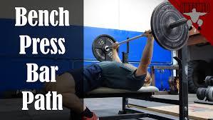 Correct Technique For Bench Press Bench Press Bar Path