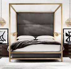 Gold Canopy Bed Z Gallerie Enzo Bed Copycatchic