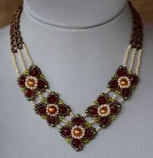 necklace designs with beads images Beads necklace designs to make latest fashion nigerian beads jpg