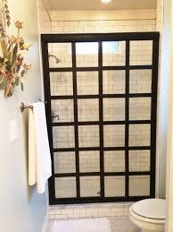 Black Shower Door Bathroom Coastal Shower Doors In Dashing Black Multi Frame For