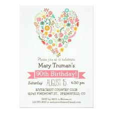 405 best heart birthday party invitations images on pinterest