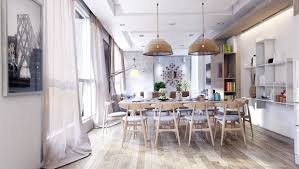 Magnificent  Rustic Dining Room  Design Decoration Of - Design dining room
