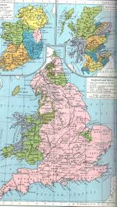 Wessex England Map by Medieval Britain General Maps
