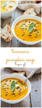 soup kitchen meal ideas kara lydon vegan turmeric pumpkin soup the foodie dietitian