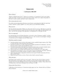 resident assistant cover letter placement officer cover letter