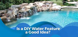 diy pool waterfall is a diy water feature a good idea all seasons pools