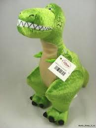 disney store pixar toy story rex bean bag plush dinosaur 8