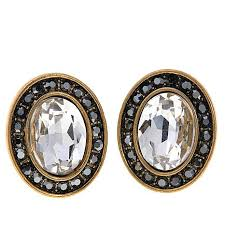 button earrings heidi daus worth waiting for button earrings 8510724 hsn