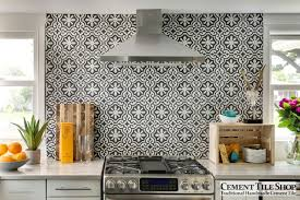 Mexican Tile Backsplash Kitchen Cement Tile Shop Blog Encaustic Cement Tile