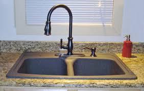 black kitchen sink faucets black granite kitchen sink with bronze faucet sink black kitchen