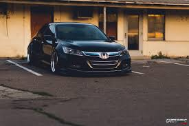 stanced honda stanced honda accord usa front