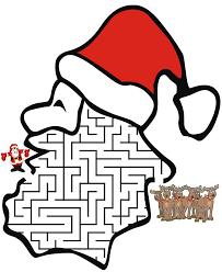 christmas july activities santa claus coloring pages santa