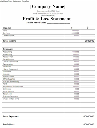 Profit And Loss Spreadsheet Template by Profit And Loss Worksheet Worksheets