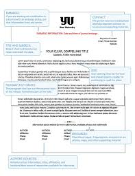 a visual guide to a typical science press release format from