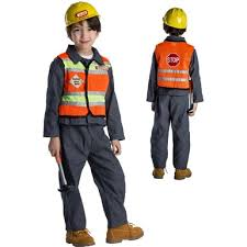 construction worker costume construction worker costume kids construction worker