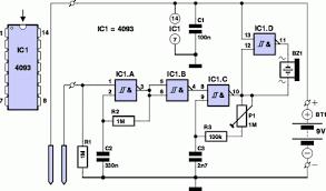 water alarm circuit diagram eeweb community