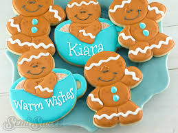 how to make decorated gingerbread man cookies semi sweet designs